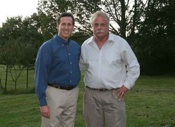 Picture of Rescue My Business founder, Robert Slider with a colleague.