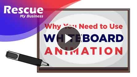 whiteboard animation service, Rescue My Business